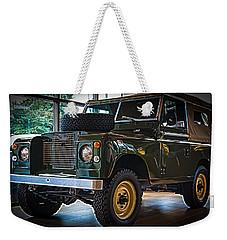 Classic 1969 Land Rover Series IIa Weekender Tote Bag