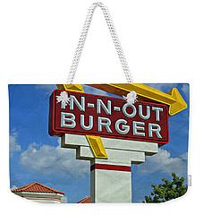 Classic Cali Burger 1.1 Weekender Tote Bag