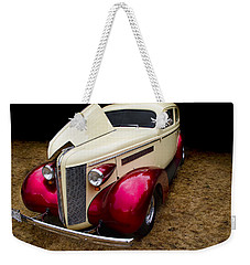 Weekender Tote Bag featuring the photograph Classic Car - 1937 Buick Century by Peggy Collins