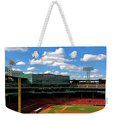 Weekender Tote Bag featuring the photograph Classic Fenway I  Fenway Park by Iconic Images Art Gallery David Pucciarelli