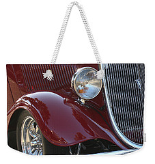 Classic Ford Car Weekender Tote Bag
