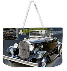 Weekender Tote Bag featuring the photograph Classic Ford by Victoria Harrington