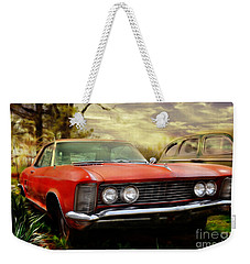 Weekender Tote Bag featuring the photograph Classic by Liane Wright