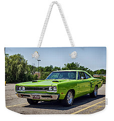 Classic Muscle Weekender Tote Bag by Sennie Pierson