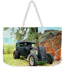 Weekender Tote Bag featuring the photograph Classic Rod by Liane Wright