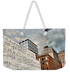 Classical Graffiti Weekender Tote Bag