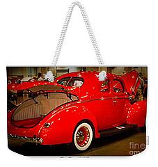 Classically Orange Weekender Tote Bag by Bobbee Rickard