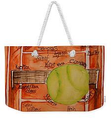 Clay Courters Weekender Tote Bag