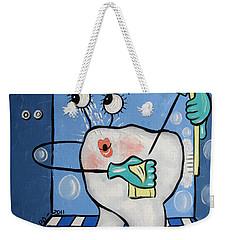 Clean Tooth Weekender Tote Bag