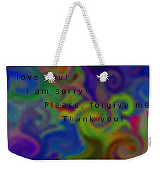Cleansing Prayer Weekender Tote Bag