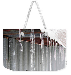 Weekender Tote Bag featuring the photograph Clear As Glass by Tiffany Erdman