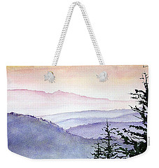 Clear Mountain Morning II Weekender Tote Bag