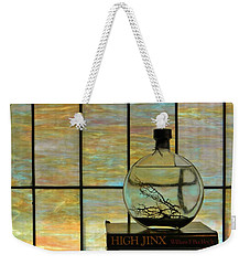 Weekender Tote Bag featuring the photograph Clear On Color by Jean Goodwin Brooks