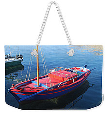 Weekender Tote Bag featuring the photograph Clear Waters by George Katechis