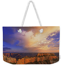 Weekender Tote Bag featuring the photograph Clearing Storm Cape Royal North Rim Grand Canyon Np Arizona by Dave Welling