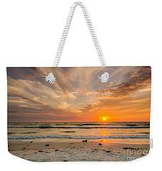 Clearwater Sunset Weekender Tote Bag