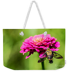 Clearwing Moth Weekender Tote Bag