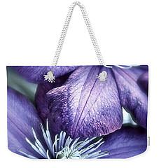 Clematis Weekender Tote Bag