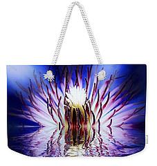 Clematis Rising Weekender Tote Bag