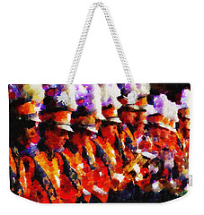 Clemson Tiger Band - Afremov-style Weekender Tote Bag
