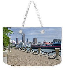 Cleveland Lake Front Weekender Tote Bag