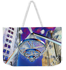 Cleveland Playhouse Square Outdoor Chandelier - 1 Weekender Tote Bag