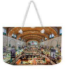 Cleveland West Side Market IIi Weekender Tote Bag