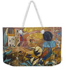 Cliff Dwellers Weekender Tote Bag by Avonelle Kelsey
