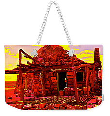 Cliff Dwellers In Red Weekender Tote Bag