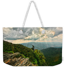 Cliff Tops At Mt. Leconte Gsmnp Weekender Tote Bag