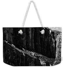 Cliffs In Contrast Weekender Tote Bag
