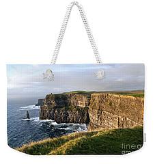 Cliffs Of Moher Evening Light Weekender Tote Bag