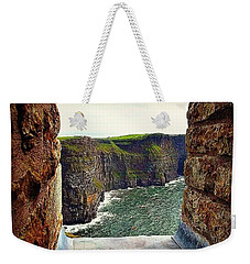 Cliffs Of Moher From O'brien's Tower Weekender Tote Bag