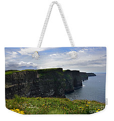 Cliffs Of Moher Looking South Weekender Tote Bag