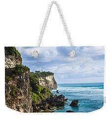 Cliffs On The Indonesian Coastline Weekender Tote Bag
