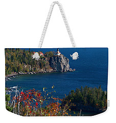 Cliffside Scenic Vista Weekender Tote Bag by James Peterson