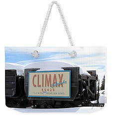 Climax Colorado Weekender Tote Bag by Fiona Kennard