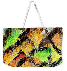 Climb Every Mountain Weekender Tote Bag by Joan Reese