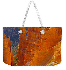 climbing out of the Canyon Weekender Tote Bag