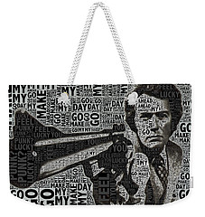 Clint Eastwood Dirty Harry Weekender Tote Bag