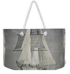 Clipper Under Sail Weekender Tote Bag