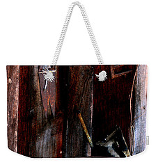 Weekender Tote Bag featuring the photograph Clippers And The Bucket by Lesa Fine