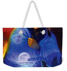 Cloak Of Visions Portrait Weekender Tote Bag by Andrew Farley