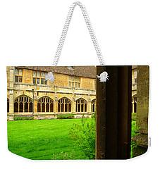 Cloister Weekender Tote Bag