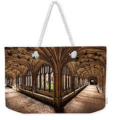 Cloisters At Lacock Abbey Weekender Tote Bag