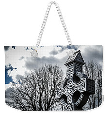 Clondegad Celtic Cross Weekender Tote Bag