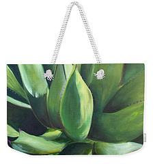 Close Cactus II - Agave Weekender Tote Bag