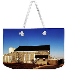 Weekender Tote Bag featuring the photograph Closed For The Day by Tina M Wenger