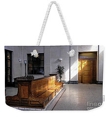 Closed Railroad Station - Johnstown Pa Weekender Tote Bag