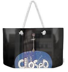Closed Sleep Tight Weekender Tote Bag